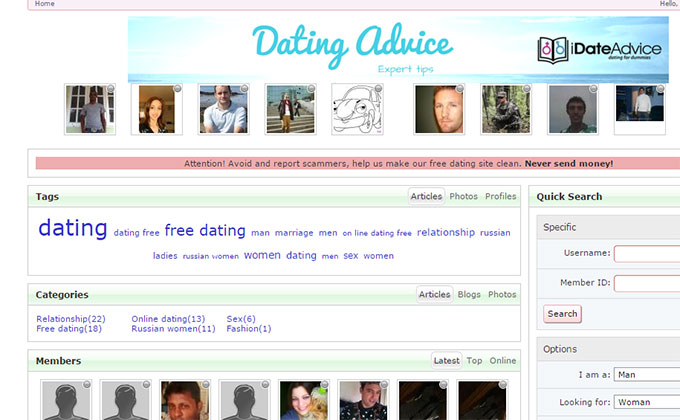 Friends reunited dating site