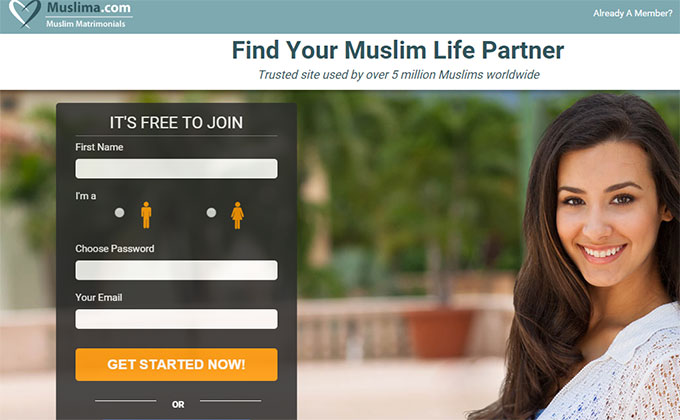 kimper muslim dating site Dublin woman reveals how she married man from muslim dating site half an hour after meeting him.