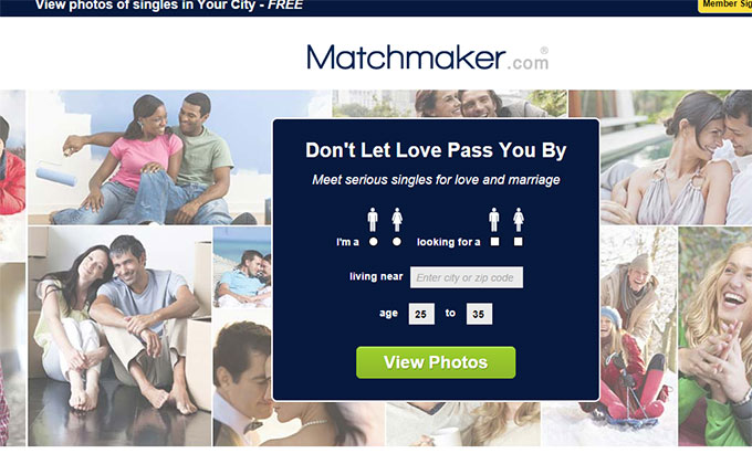 Matchmaker dating website