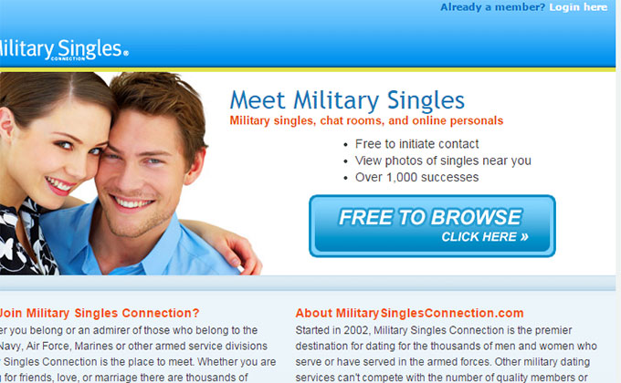 single military dating sites