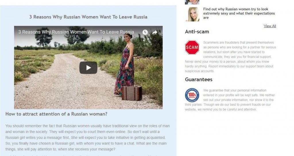 find your dream Russian woman