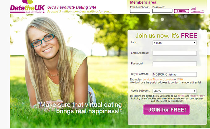 gratis dating sites UK geen aanmelden