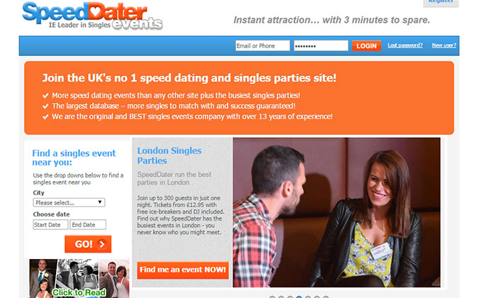 speed dating events review